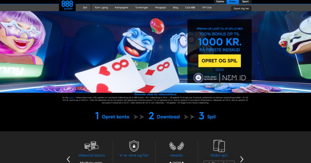 888poker hjemmeside