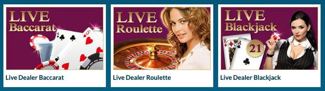 EUCasino live casino