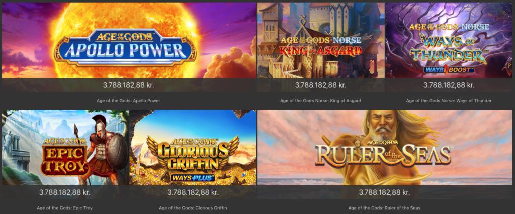 Jackpot spilleautomater hos Bet365 Casino