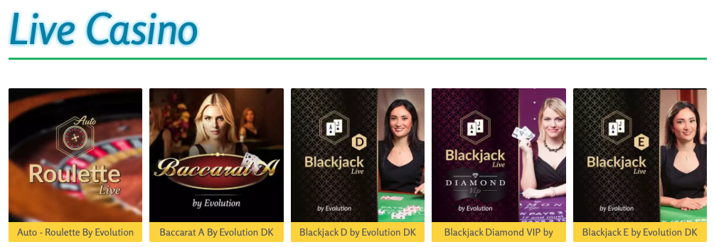 LuckyMe Slots live casino