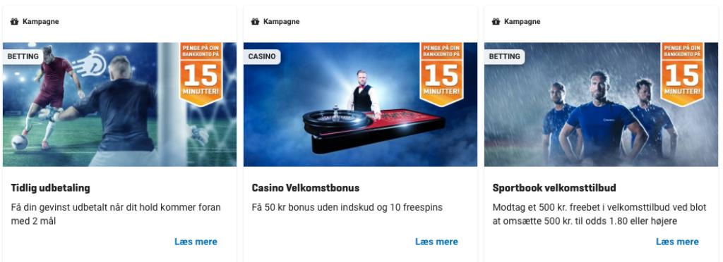 NordicBet Casino kampagner
