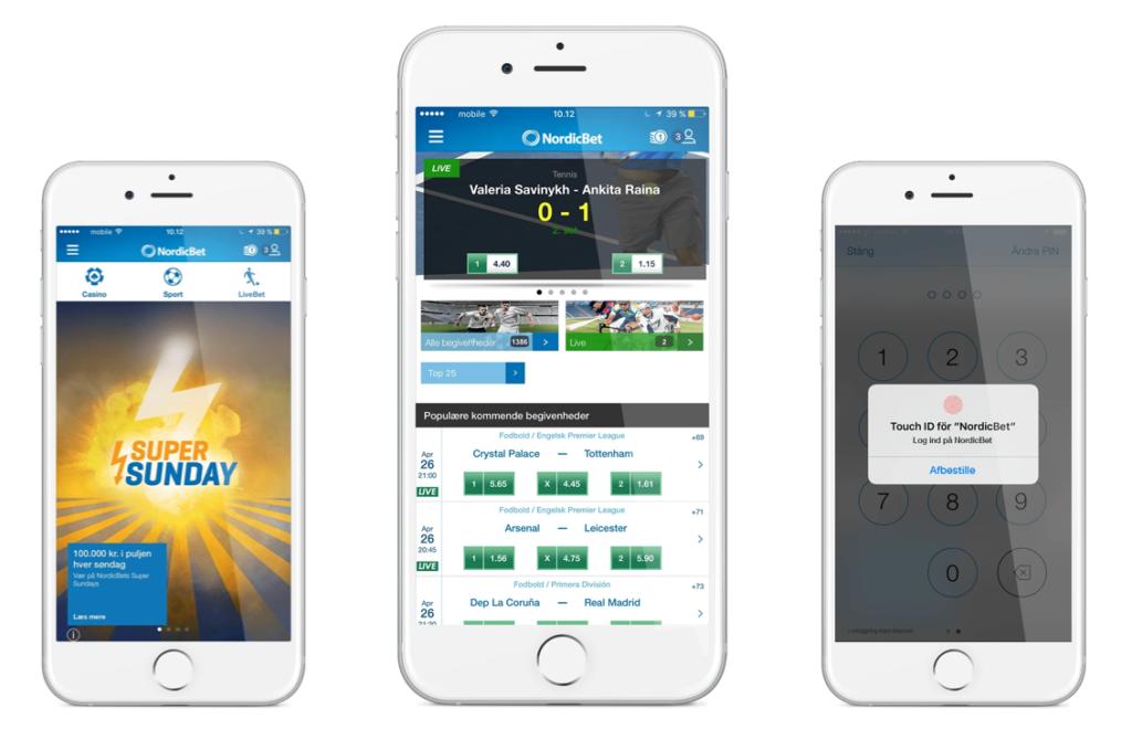NordicBet mobil casino