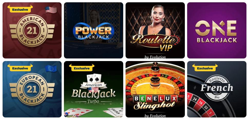 PlayToro live casino