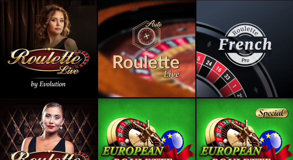 Spil live casino hos Lucky Louis