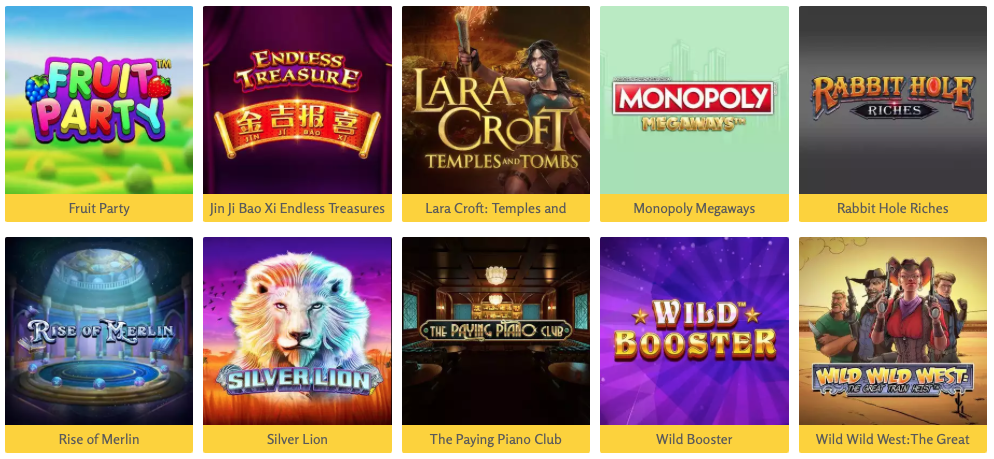 Spilleautomater hos LuckyMe Slots