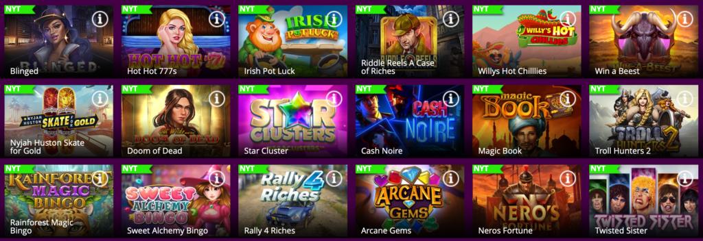 Belliscasino.dk bordspil og andre casino spil