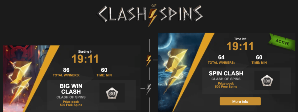 Clash of Spins