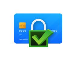 Dine kreditkortoplysninger bliver krypteret