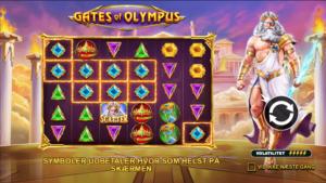 Gates of Olympus banner
