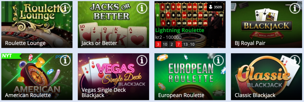 Jackie Jackpot live casino