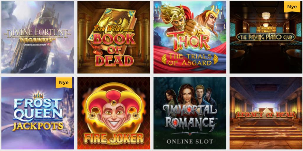 Lucky Vegas spilleautomater