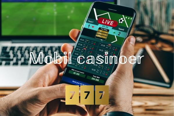 Mobil casinoer - 777.dk