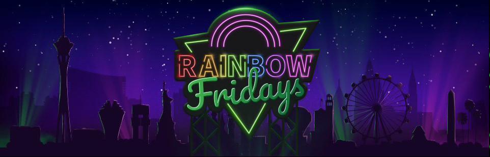 Rainbow Fridays hos Mr Vegas Casino