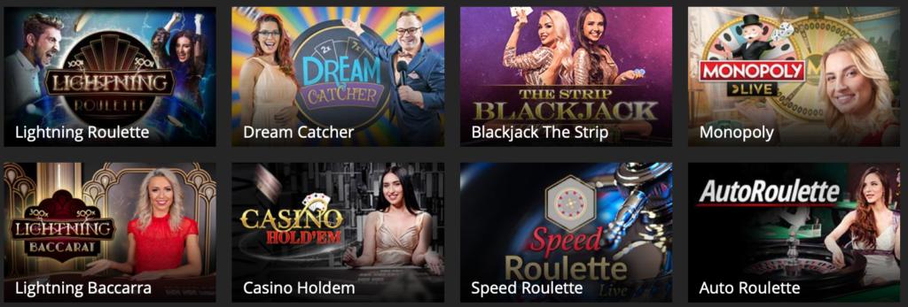 Spil live casino hos Barbadoscasino.dk