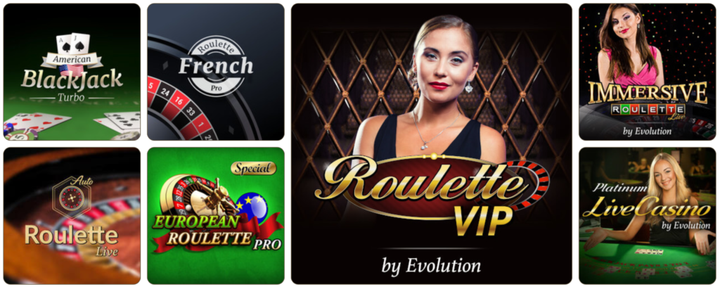 Stort udvalg af live casino hos PlayKasino