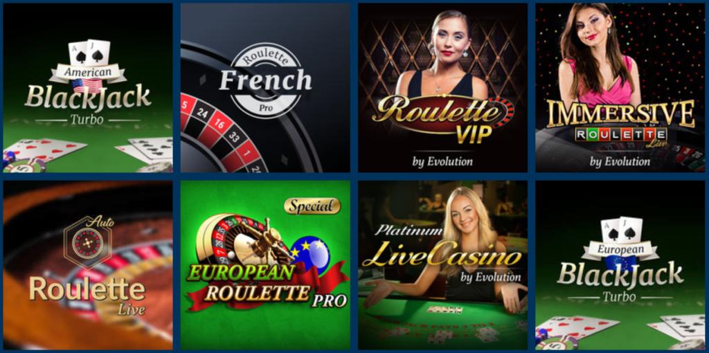 Turbonino live casino